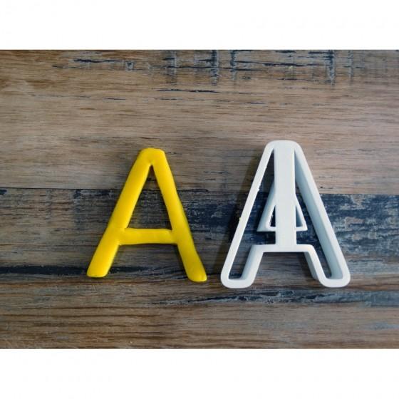 lettre de l'alphabet A -...