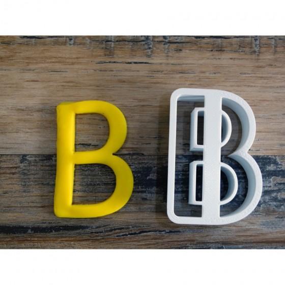 lettre de l'alphabet B -...