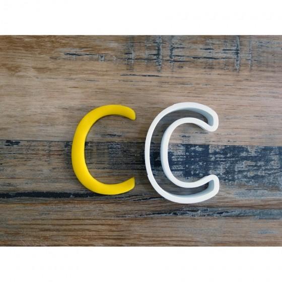 lettre de l'alphabet C -...