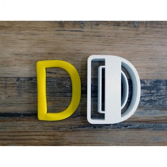 lettre de l'alphabet D -...