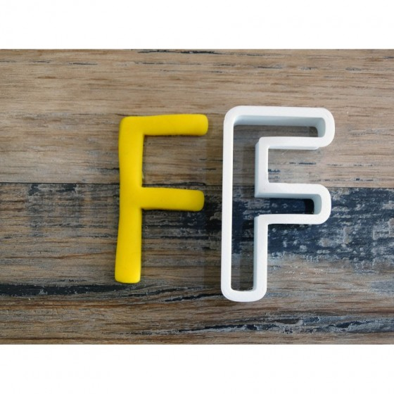 lettre de l'alphabet F -...