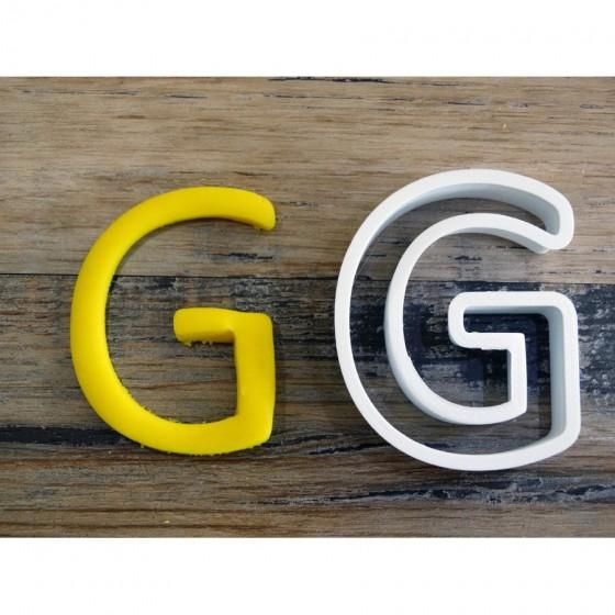 lettre de l'alphabet G -...