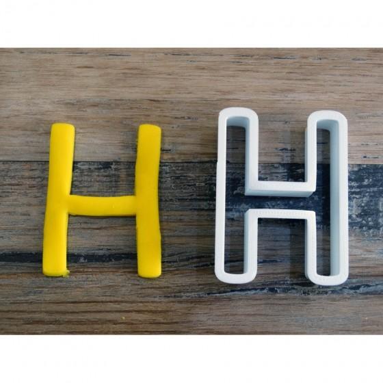 lettre de l'alphabet H -...