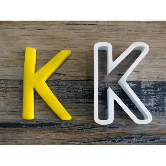 lettre de l'alphabet K -...