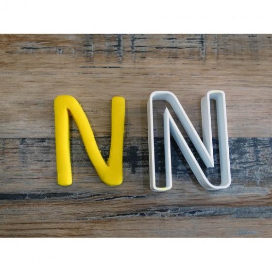 lettre de l'alphabet N -...
