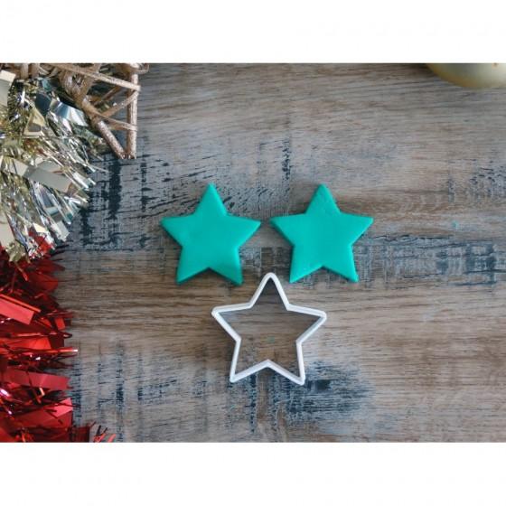 Noël - Etoile contour -...