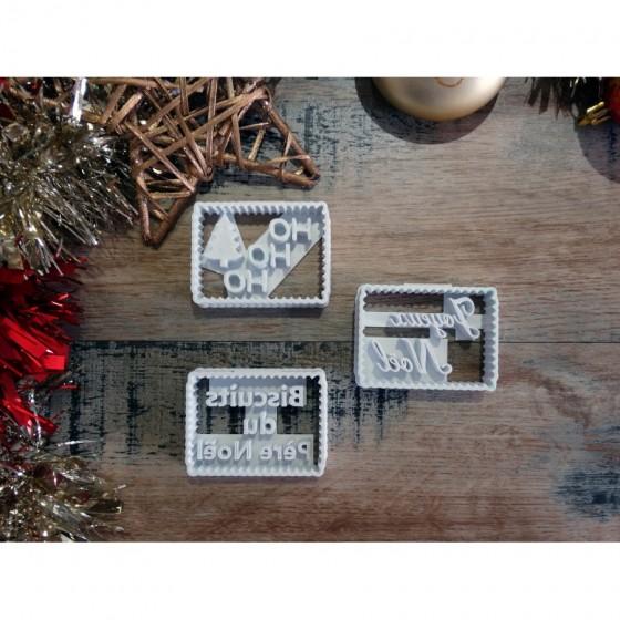 Noël - Pack de 3 pièces...