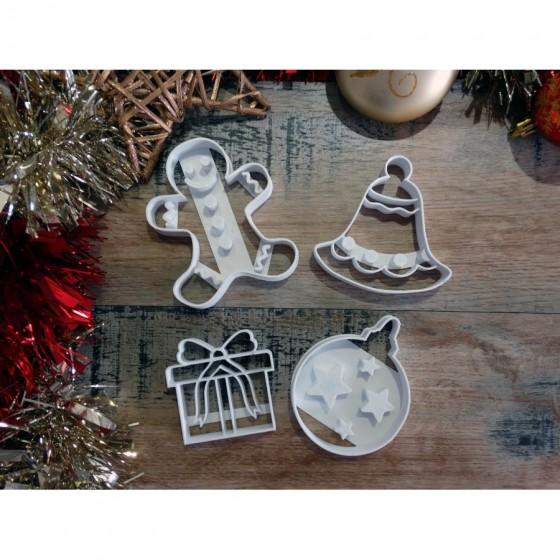Noël - Pack de 4 pièces...